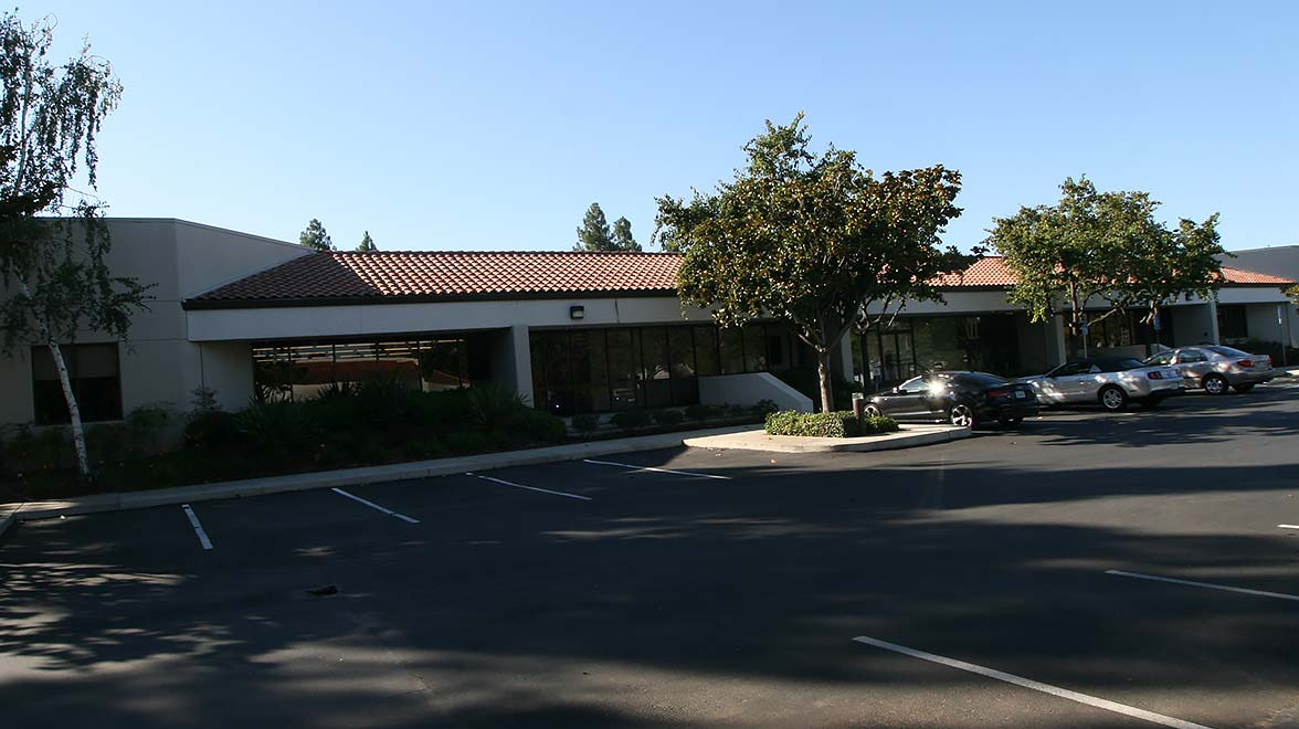 Parking area at Bandley Drive in Cupertino